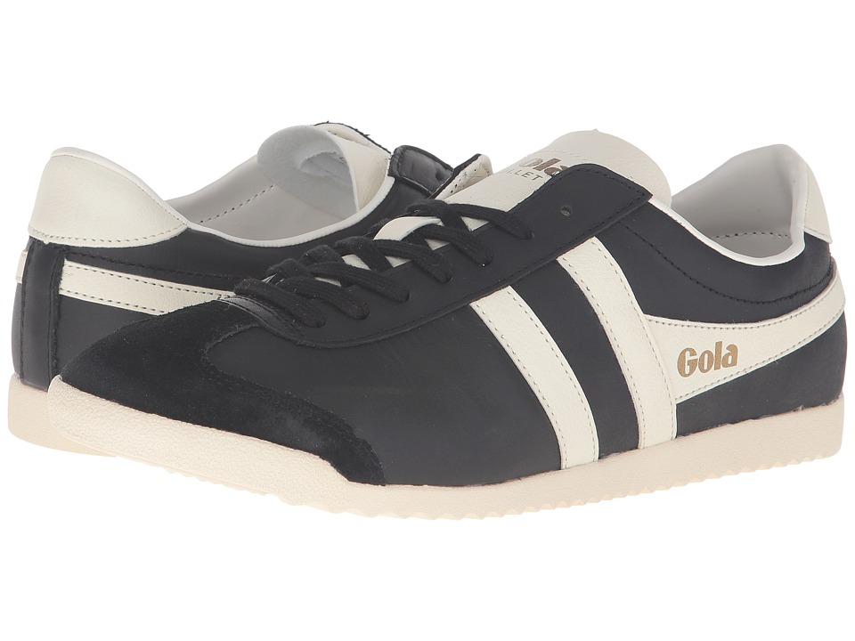 Gola - Bullet Leather (Black/Off-White) Men's Shoes