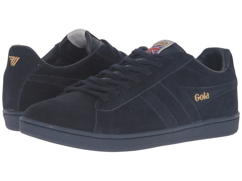Gola - Equipe Suede (Navy/Navy) Men's Shoes