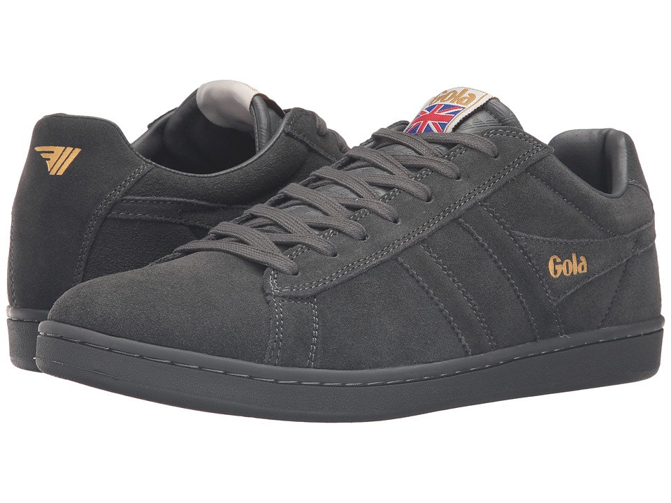 Gola - Equipe Suede (Graphite/Graphite) Men's Shoes