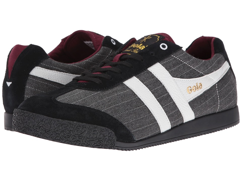 Gola - Harrier SR (Black/Pinstripe) Men's Shoes