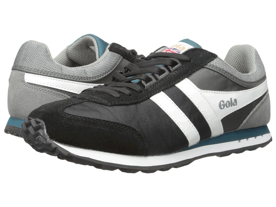Gola - Boston (Black/Grey/Real) Men's Shoes