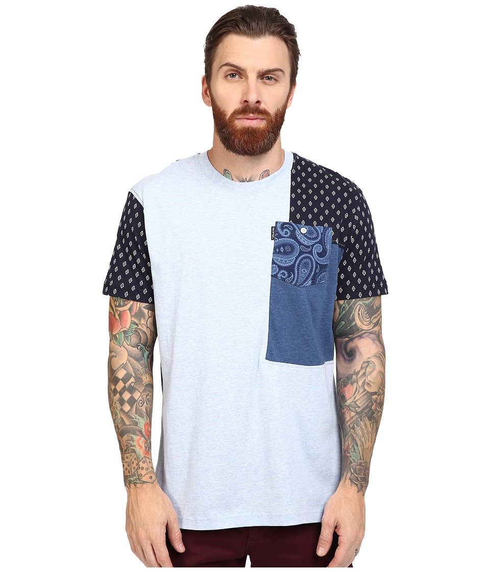 Staple - Academy Pocket Tee (Indigo) Men's T Shirt