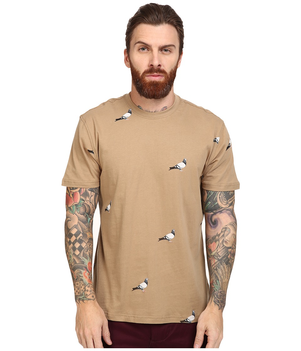 Staple - All Over Pigeon Tee (Khaki) Men's T Shirt