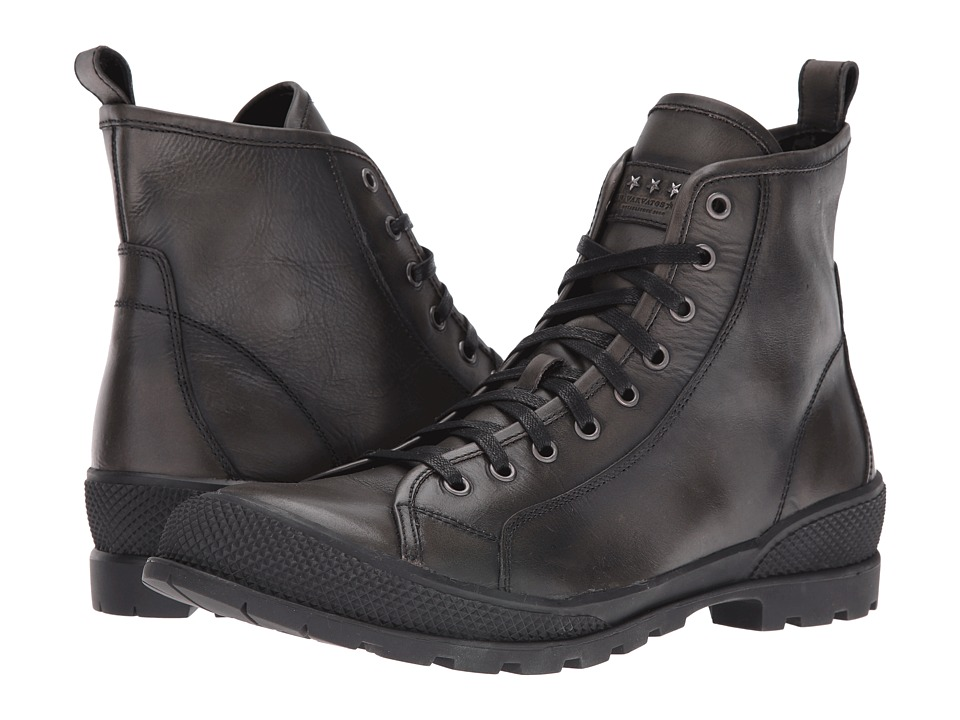 John Varvatos - Heyward Lace Boot (Charcoal) Men's Lace-up Boots