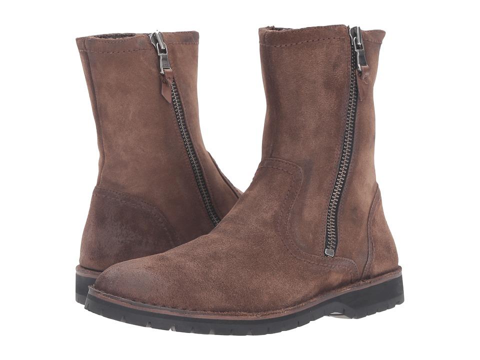 John Varvatos - Hipster Slouch Boot (Antique) Men's Zip Boots