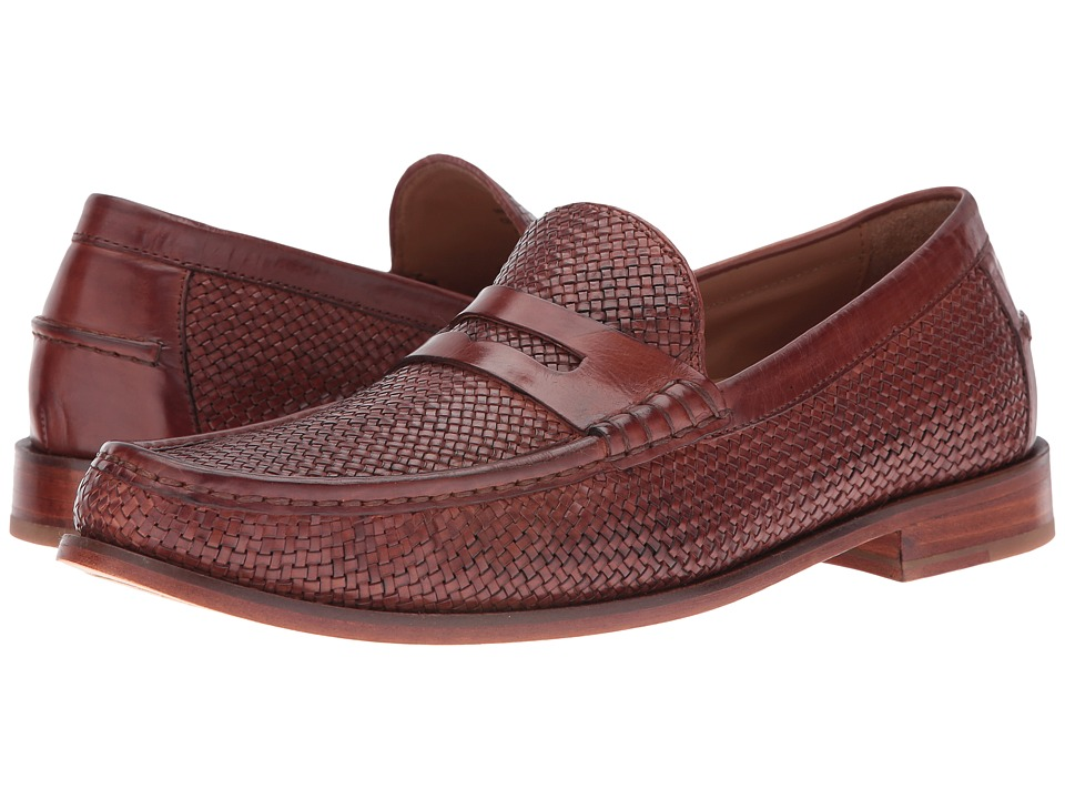 Cole Haan - Pinch Gotham Penny Loafer (Woodbury Woven) Men's Slip-on Dress Shoes