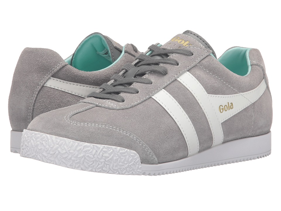 Gola - Harrier (Grey/Windhcime/Mint) Women's Shoes