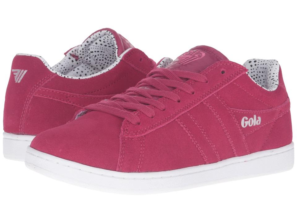 Gola - Equipe Dot (Magenta) Women's Shoes