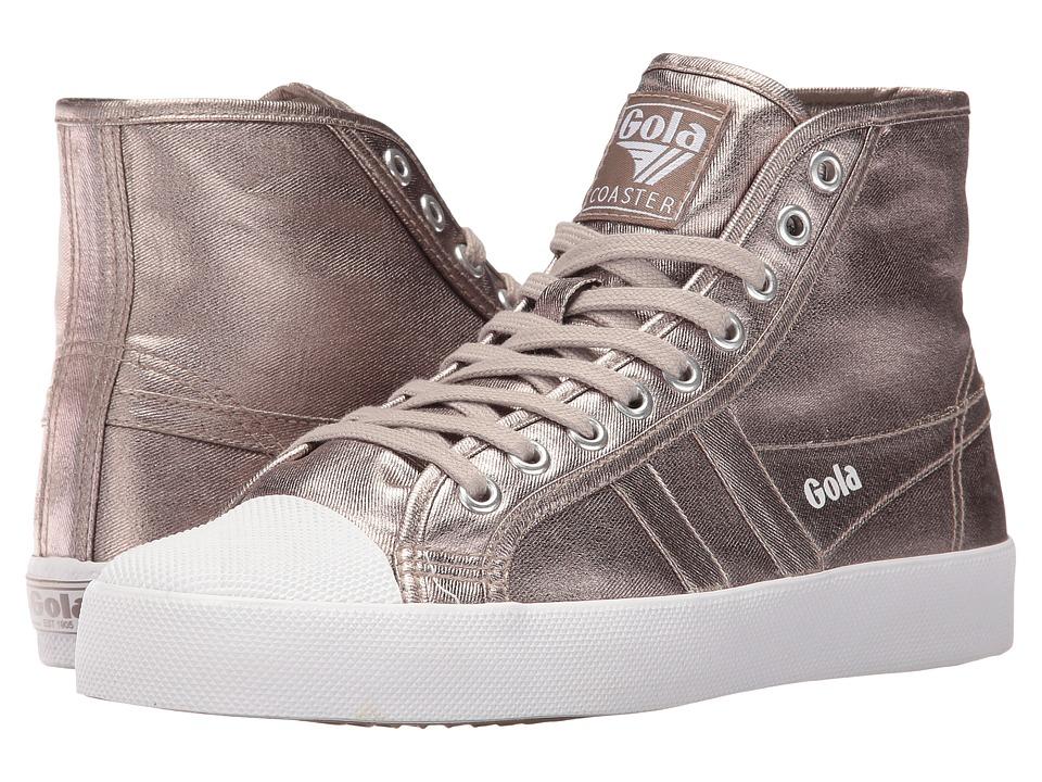 Gola - Coaster High Metallic (Pewter/Pewter) Women's Shoes
