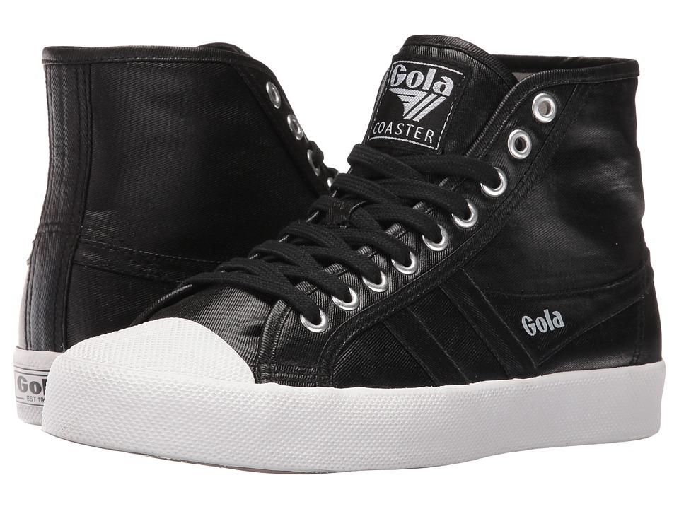 Gola Coaster High Metallic (Black/Black) Women