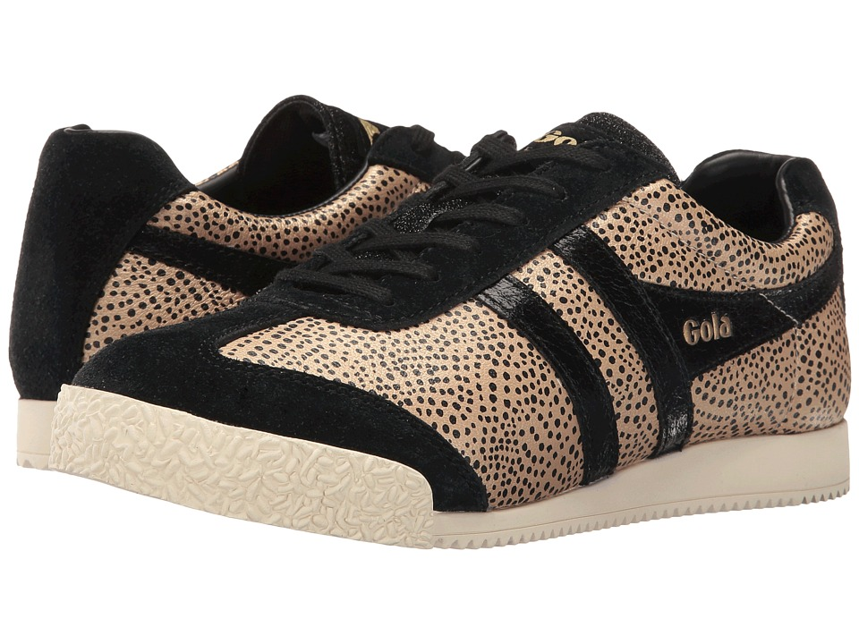 Gola - Harrier Safari (Gold/Black) Women's Shoes