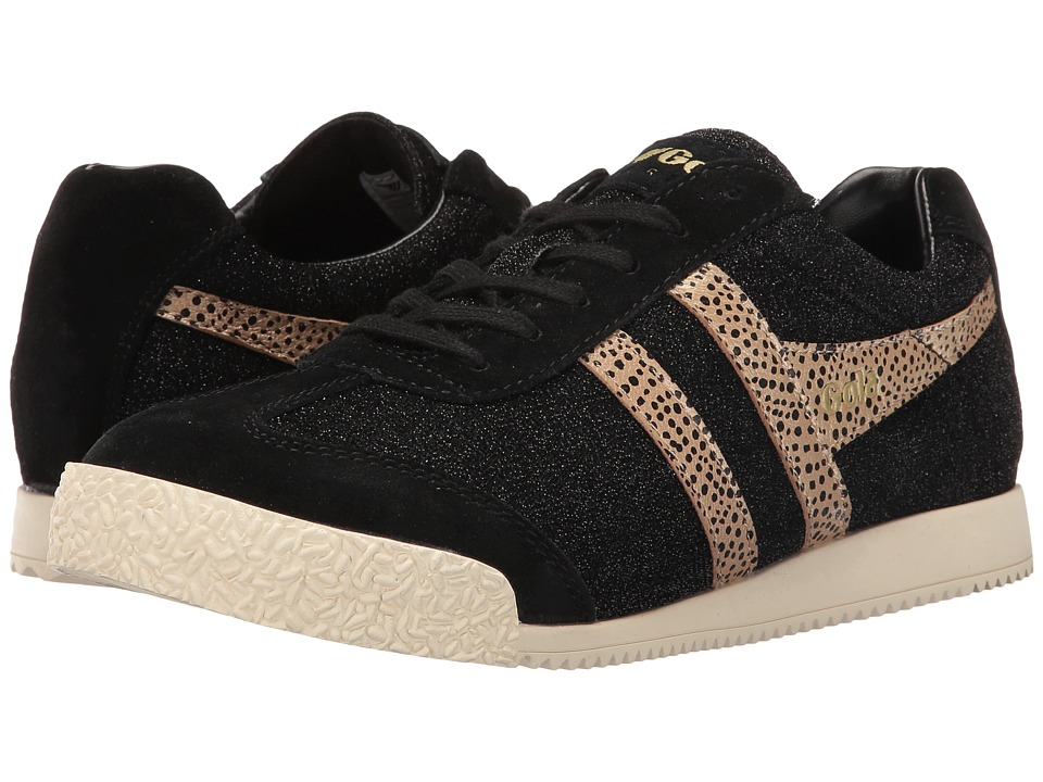 Gola - Harrier Safari (Black/Gold) Women's Shoes