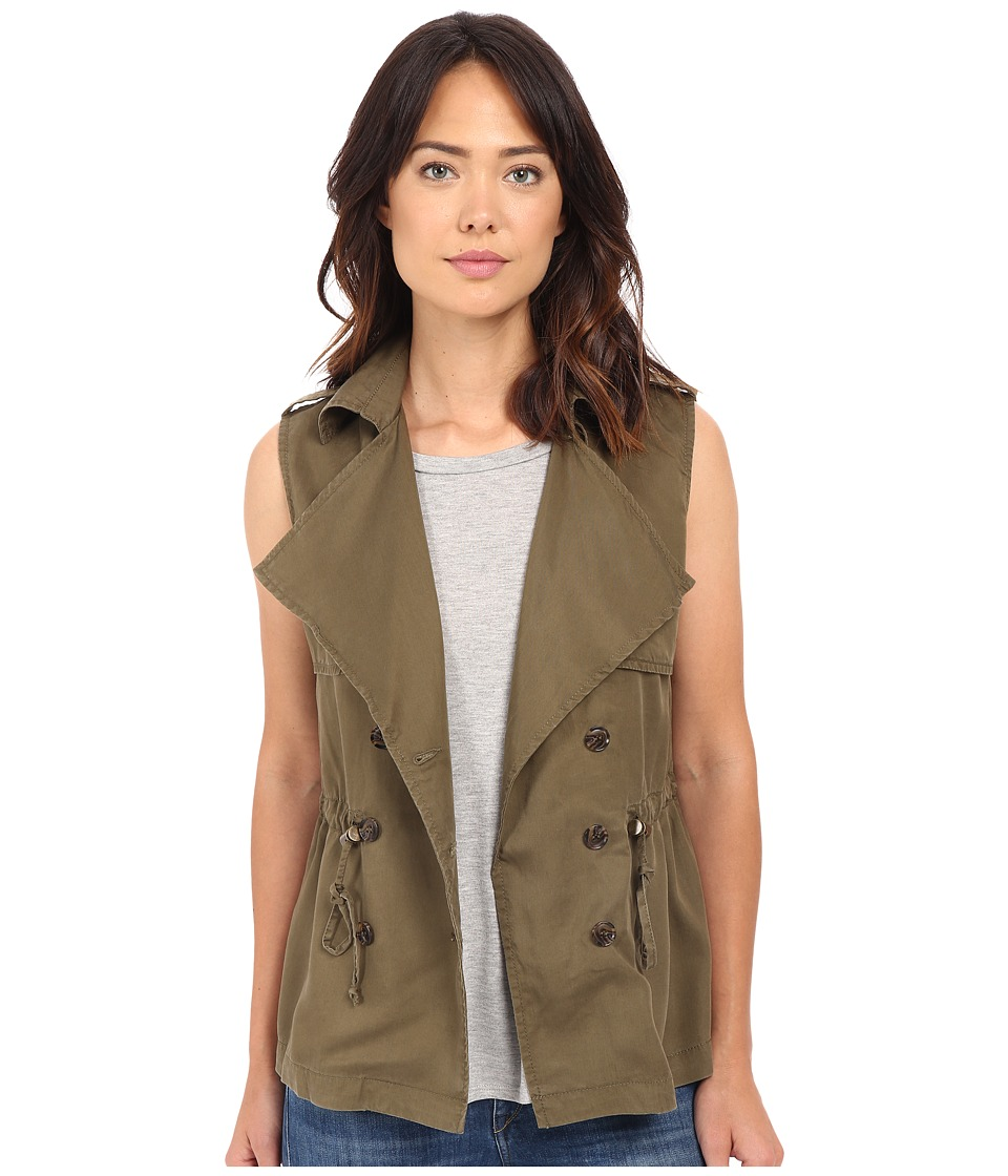 KUT from the Kloth - Olivia Vest (Moss) Women's Vest