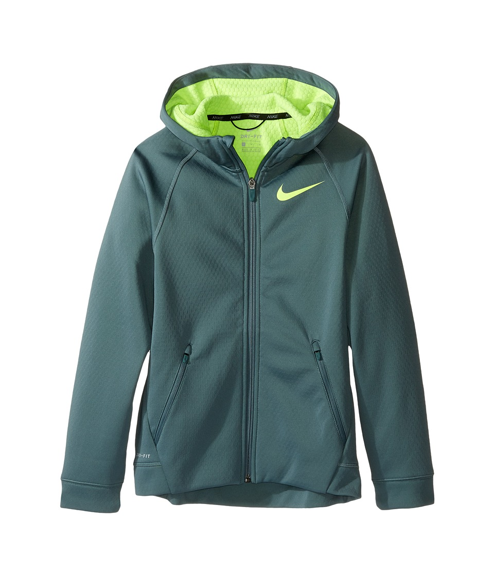 Nike Kids - Therma Sphere Jacket (Little Kids/Big Kids) (Hasta/Volt/Volt) Boy's Coat