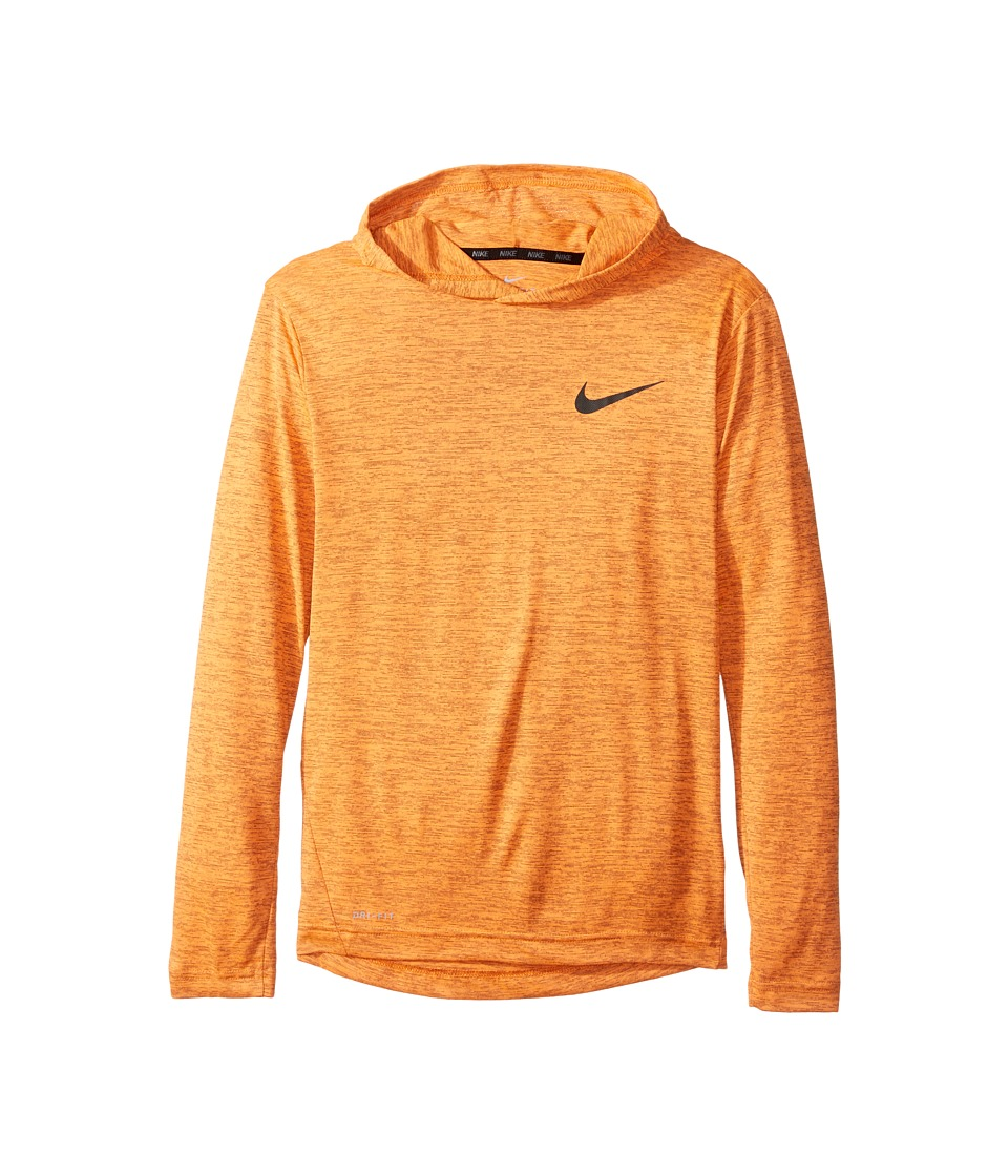 Nike Kids - Training Hoodie (Little Kids/Big Kids) (Total Orange/Anthracite/Black) Boy's Clothing