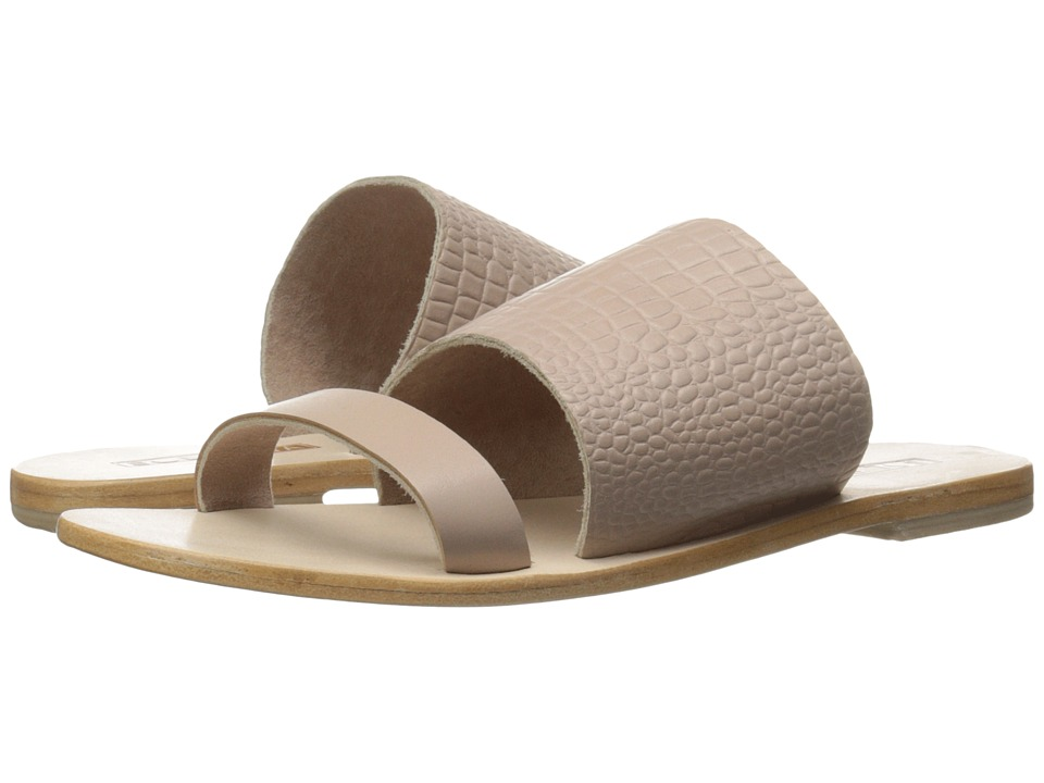 Sol Sana - Jobe Slide (Blush Croc) Women's Shoes