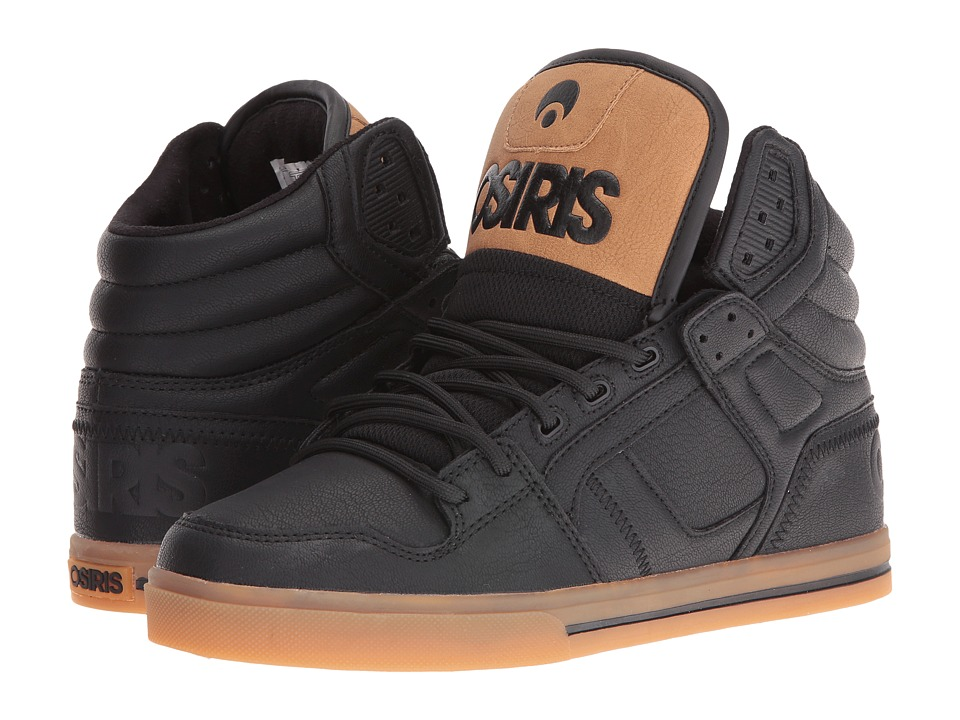 Osiris - Clone (Black/Work) Men's Skate Shoes