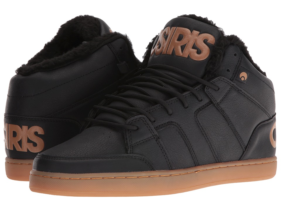 Osiris - Convoy Mid SHR (Black/Work) Men's Skate Shoes
