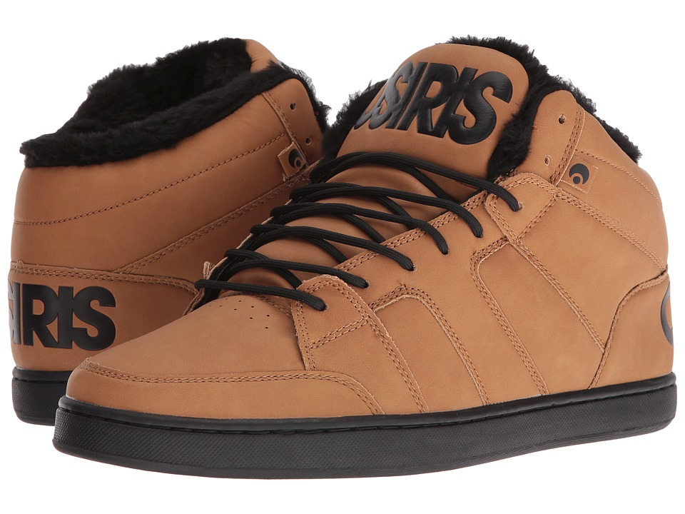 Osiris - Convoy Mid SHR (Brown/Work) Men's Skate Shoes