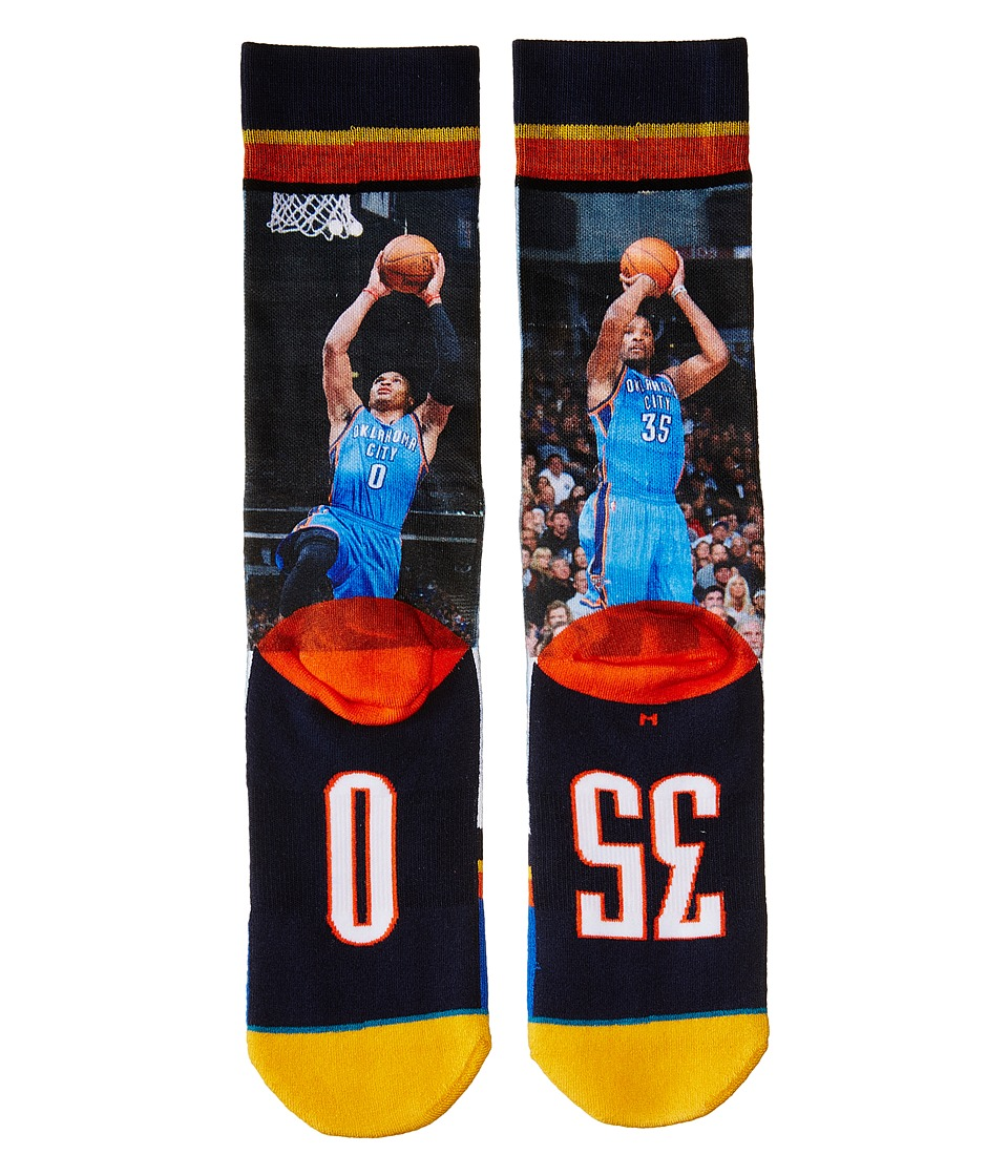 Stance - Thunder Up (Yellow) Men's Crew Cut Socks Shoes