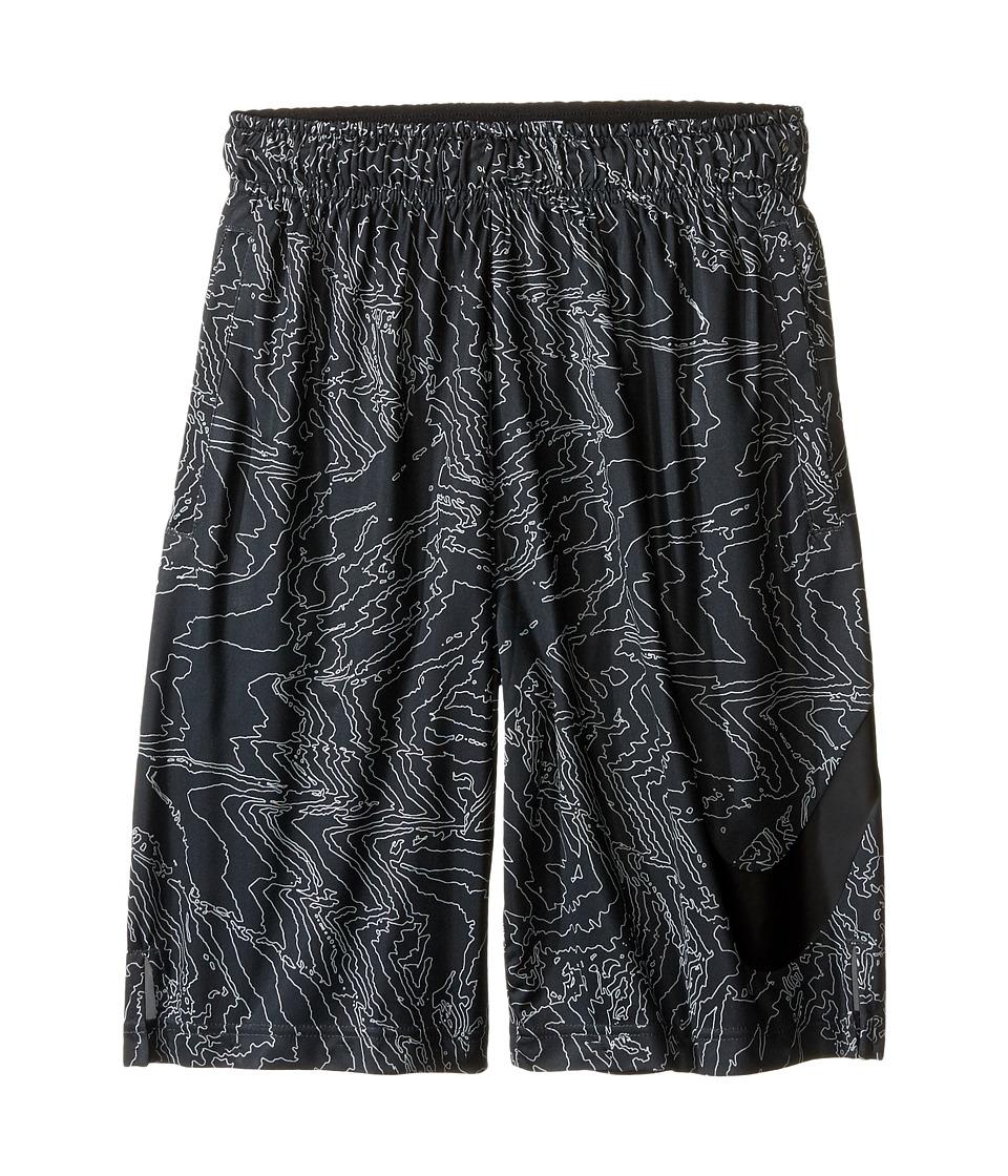 Nike Kids - Dry Training Short AOP6 (Little Kids/Big Kids) (Anthracite/Black/Black) Boy's Shorts