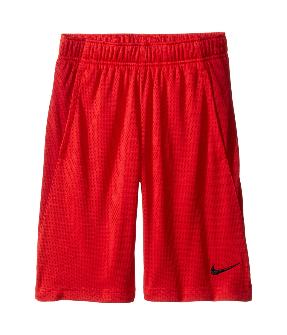 Nike Kids - YA Monster Mesh Shorts (Little Kids/Big Kids) (University Red/Gym Red/Black) Boy's Shorts