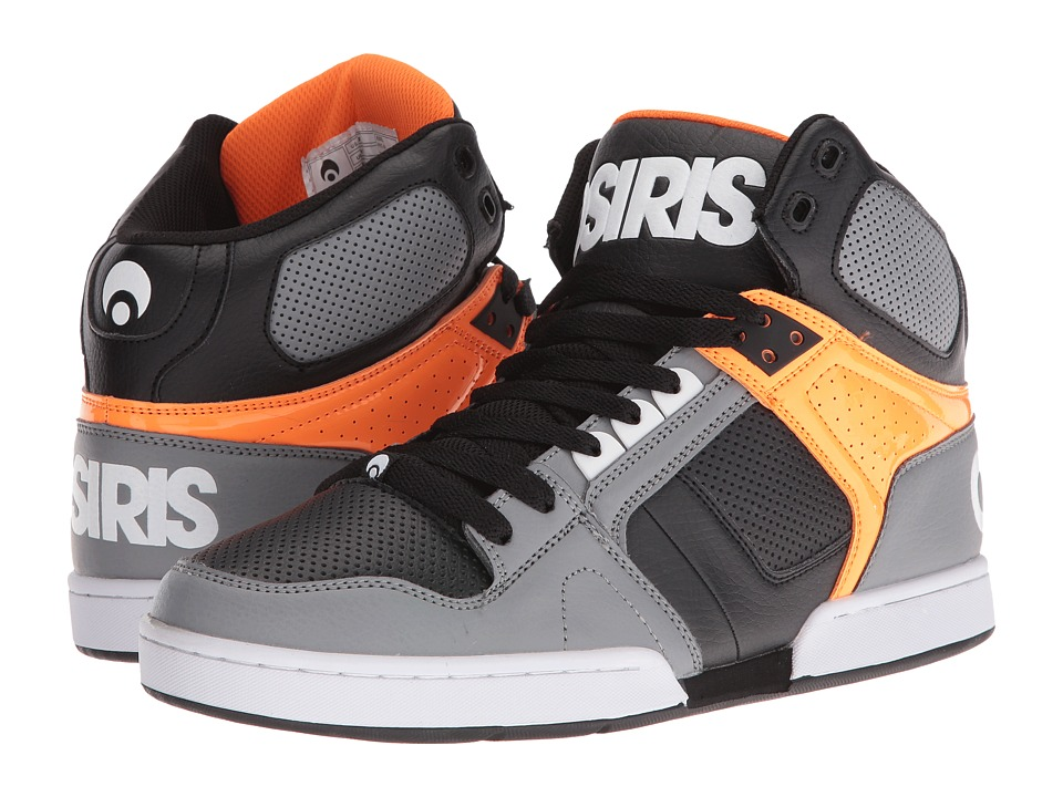 Osiris - NYC83 (Grey/Orange) Men's Skate Shoes