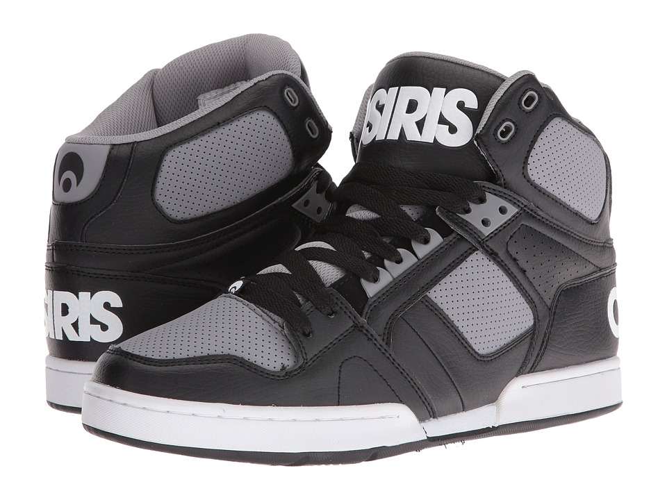 Osiris - NYC83 (Black/Grey) Men's Skate Shoes