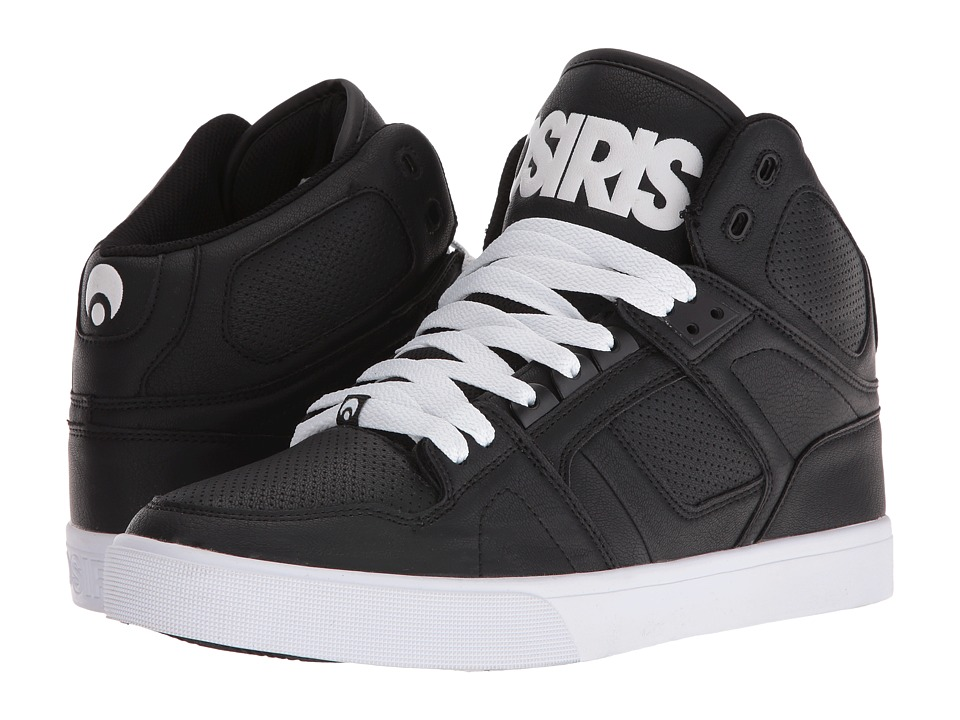Osiris - NYC83 VLC (Black/White/White) Men's Skate Shoes