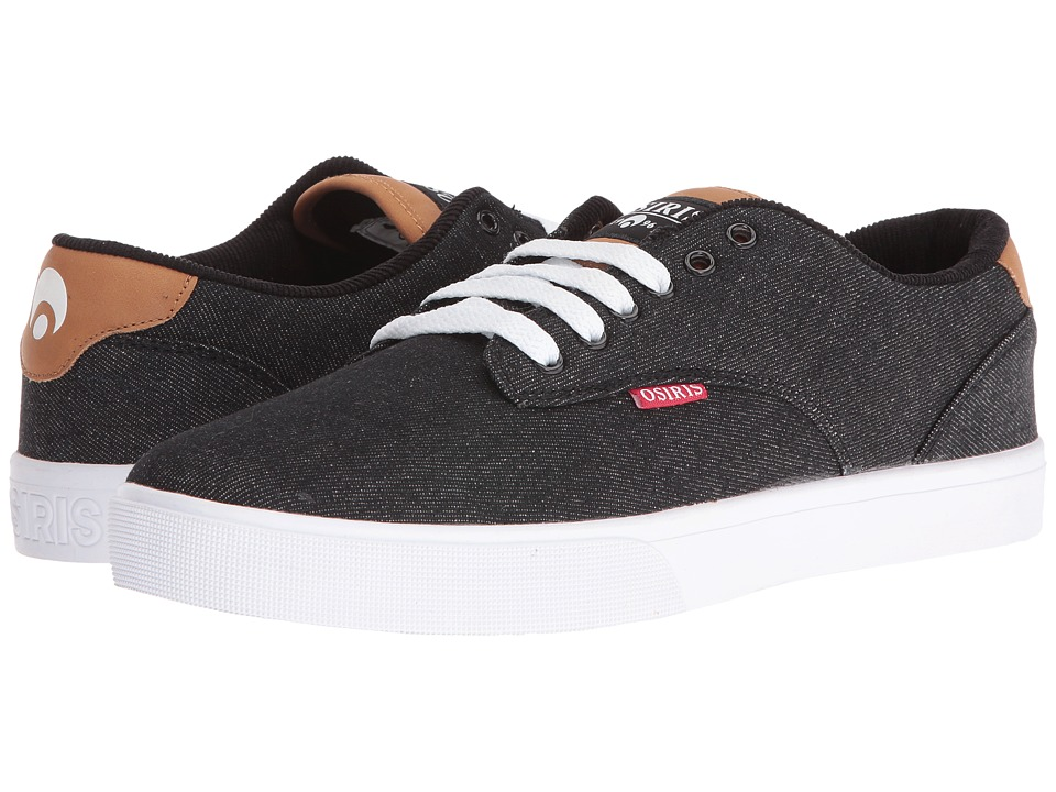 Osiris - Slappy VLC (Black/Denim) Men's Skate Shoes