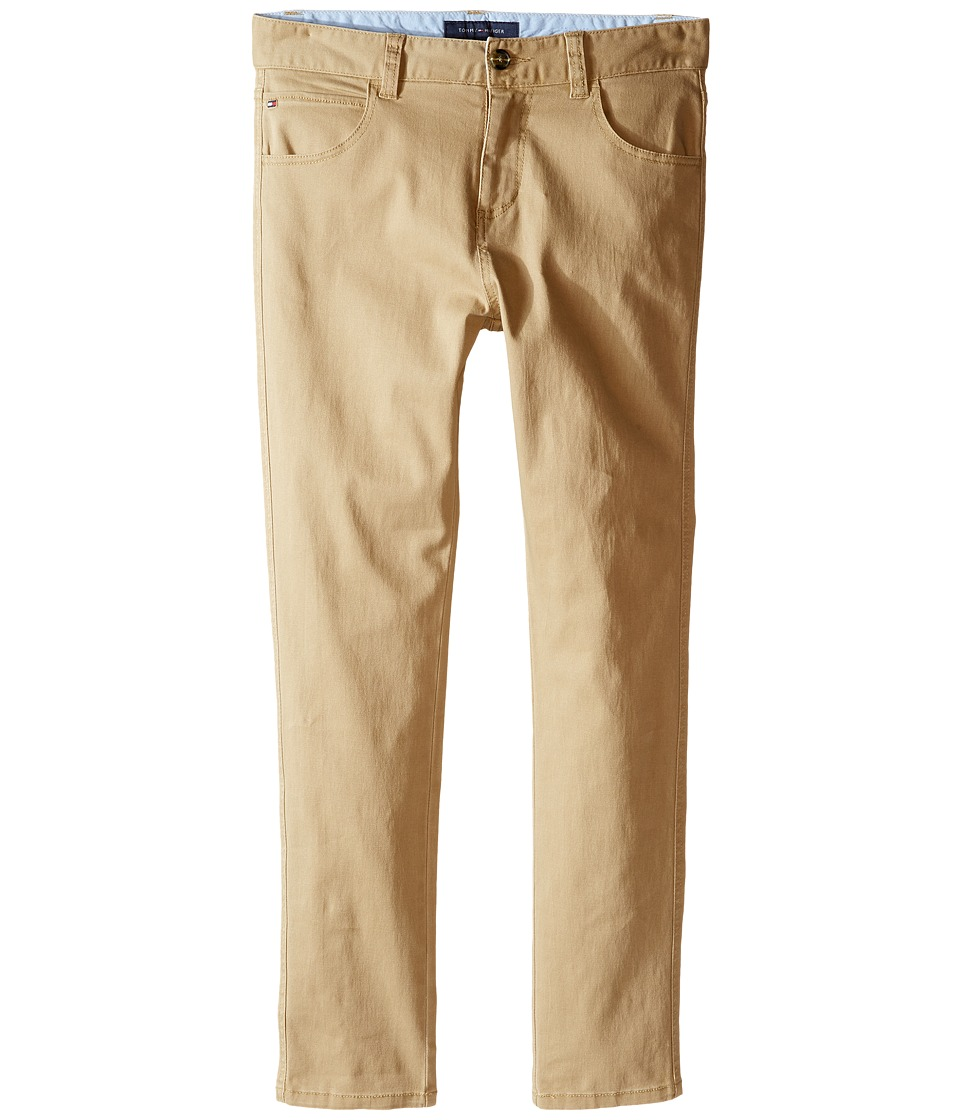 Tommy Hilfiger Kids - Five-Pocket Trent Pants (Big Kids) (TH Chino) Boy's Casual Pants
