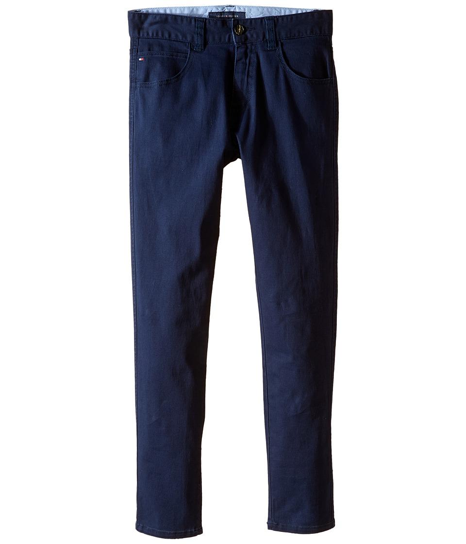Tommy Hilfiger Kids - Five-Pocket Trent Pants (Big Kids) (Swim Navy) Boy's Casual Pants