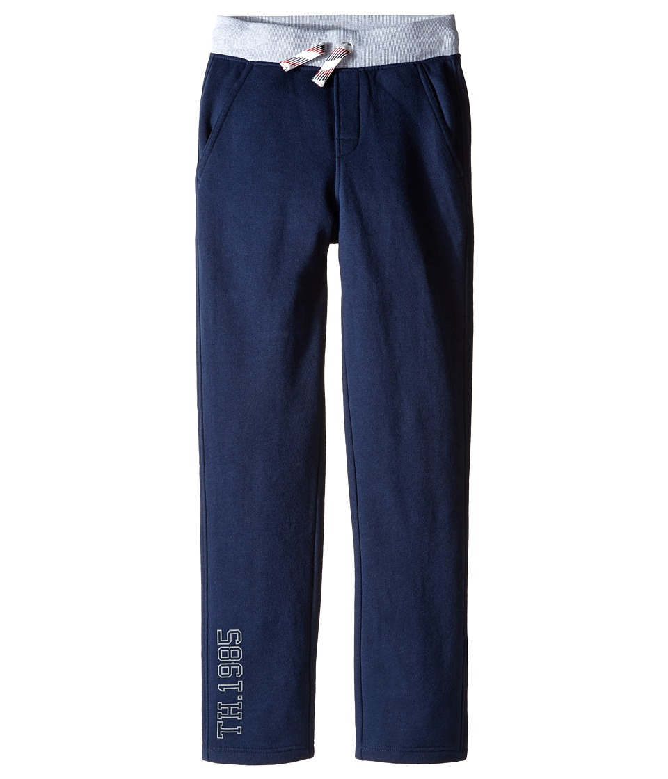 Tommy Hilfiger Kids - Basic 1985 Open Hem Sweatpants (Big Kids) (Swim Navy) Boy's Casual Pants