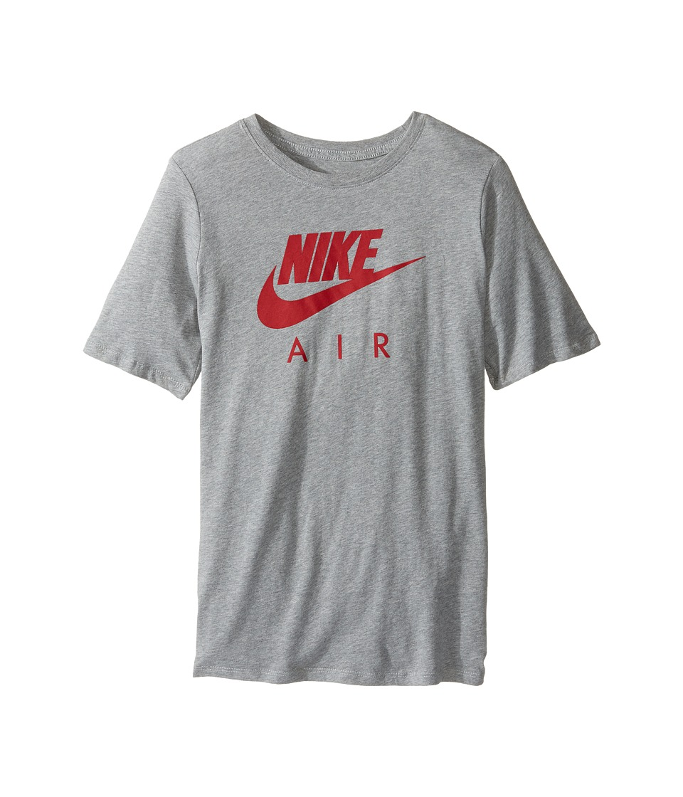 Nike Kids - Air Training T-Shirt (Little Kids/Big Kids) (Dark Grey Heather) Boy's Clothing