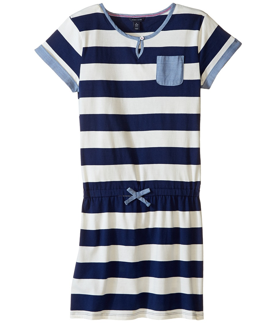 Tommy Hilfiger Kids - Rugby Dress (Big Kids) (Flag Blue) Girl's Dress