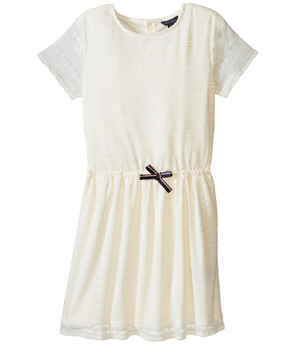 Tommy Hilfiger Kids - Lace Dress (Big Kids) (Whisper White) Girl's Dress