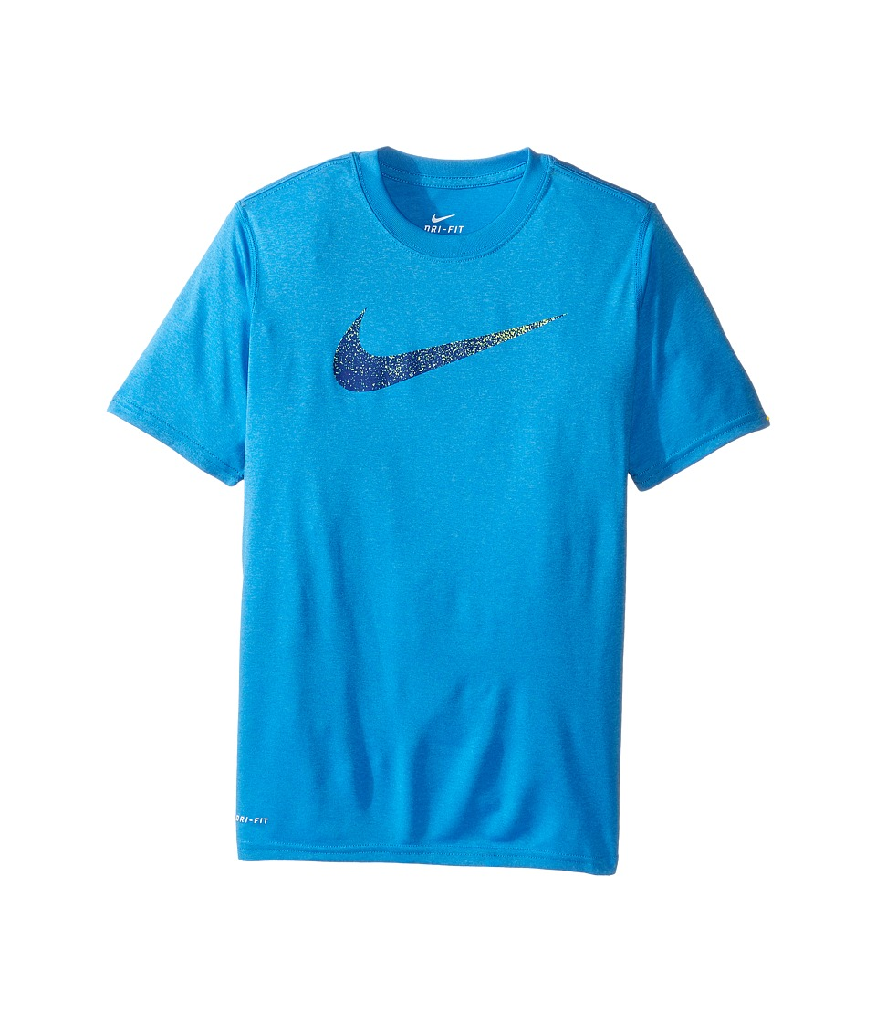 Nike Kids - Legend Static Tee (Little Kids/Big Kids) (Light Photo Blue) Boy's T Shirt