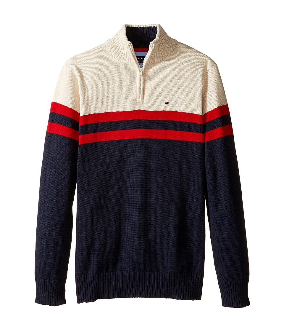 Tommy Hilfiger Kids - Connor 1/2 Zip Sweater (Big Kids) (Swim Navy) Boy's Sweater