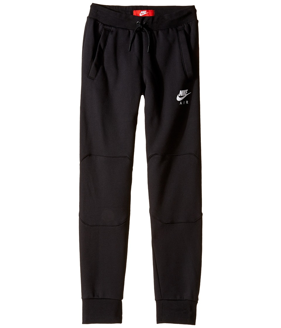 Nike Kids - Sportswear Pant (Little Kids/Big Kids) (Black/Black/Black/White) Boy's Casual Pants