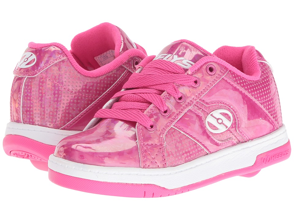 Heelys Split (Little Kid/Big Kid/Adult) (Pink/Hologram) Girls Shoes
