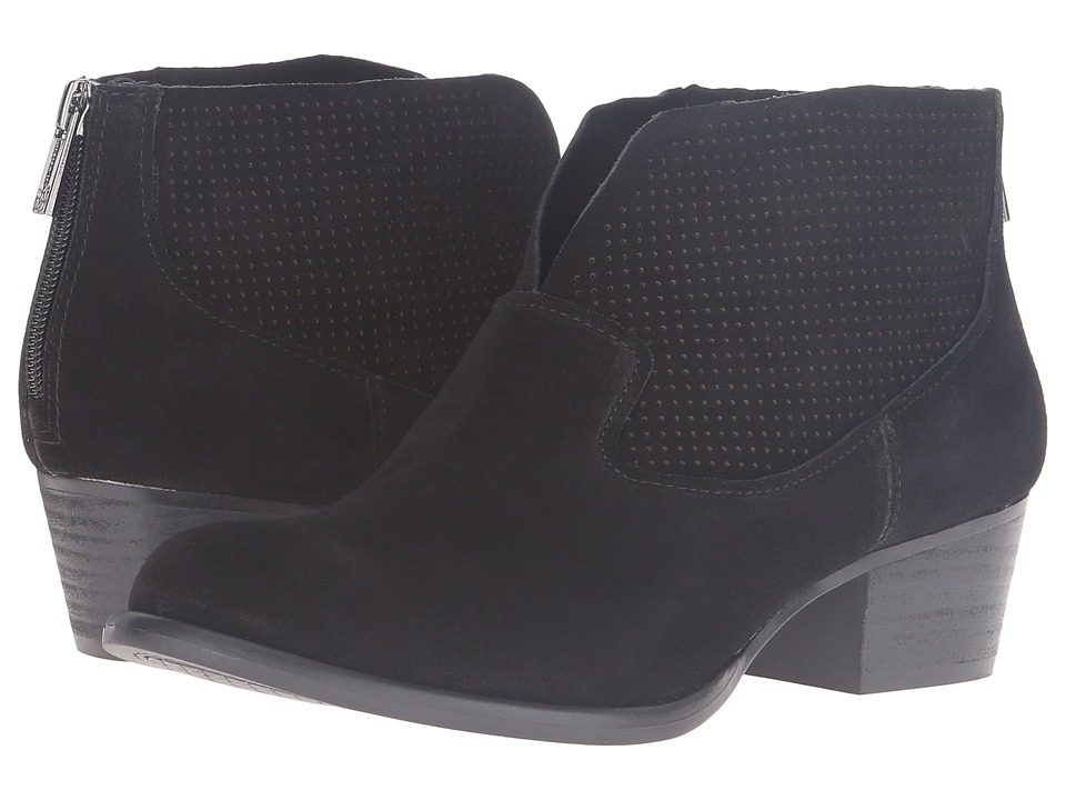 Jessica Simpson - Dacia (Black Split Suede) Women's Boots