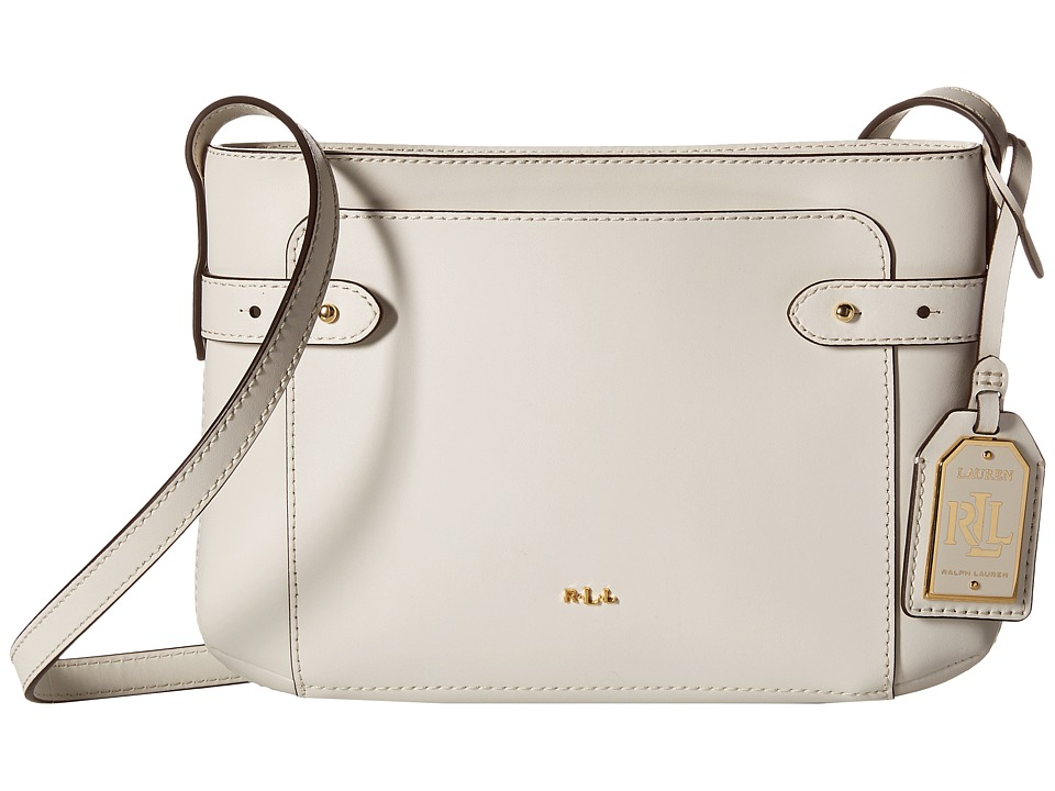LAUREN Ralph Lauren - Jacqueline Crossbody (Vanilla) Cross Body Handbags