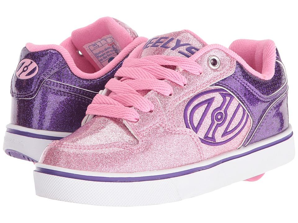 Heelys - Motion Plus (Little Kid/Big Kid/Adult) (Purple/Pink Glitter) Girl's Shoes