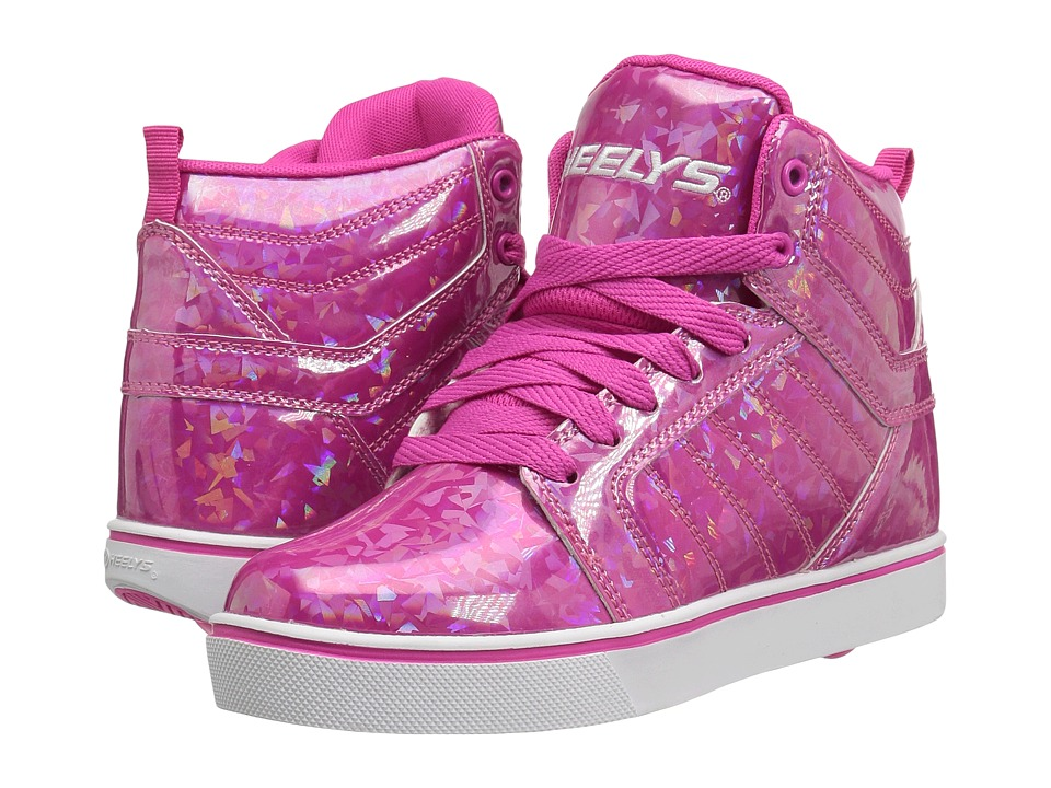 Heelys - Uptown (Little Kid/Big Kid/Adult) (Pink/Hologram) Girls Shoes