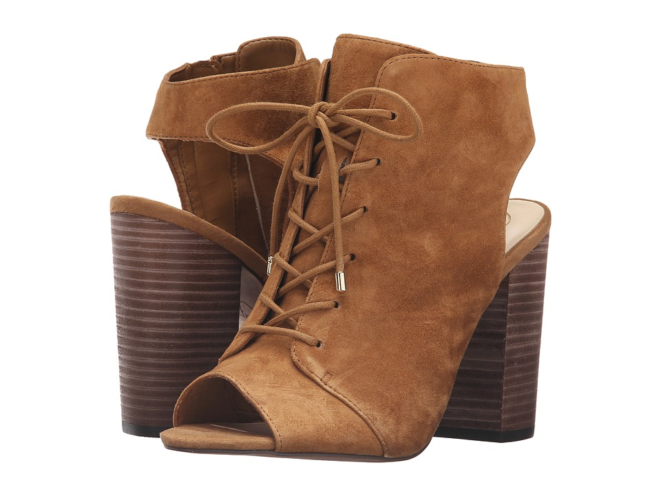 Jessica Simpson Klaya (Honey Brown Split Suede) Women