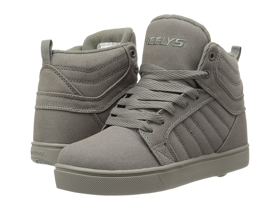 Heelys Uptown (Little Kid/Big Kid/Adult) (Grey Solid) Boys Shoes