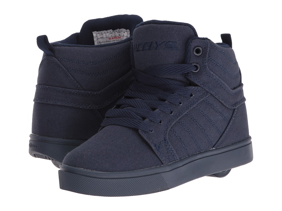 Heelys Uptown (Little Kid/Big Kid/Adult) (Navy Solid) Boys Shoes