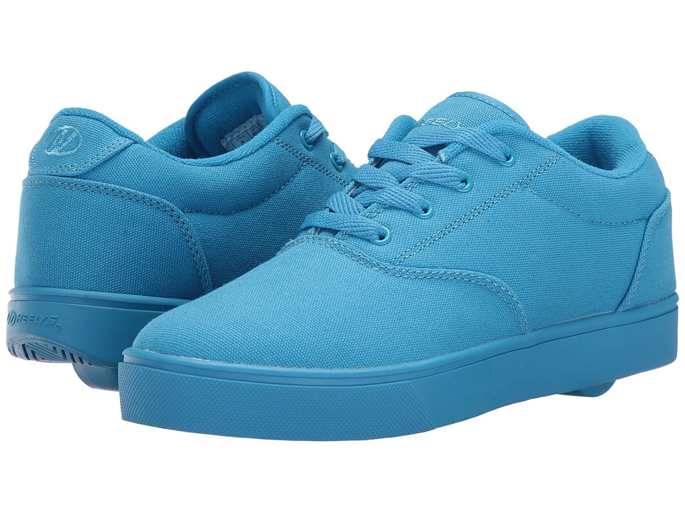 Heelys - Launch (Little Kid/Big Kid/Adult) (Cyan Solid) Kids Shoes