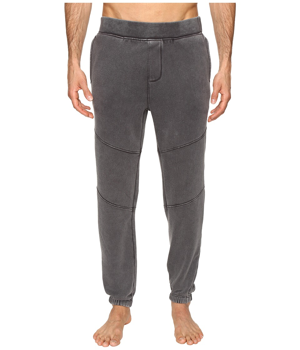 UGG - Bradi Washed Jogger Pants (Black) Men's Pajama