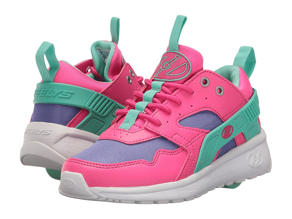 Heelys - Force (Little Kid/Big Kid/Adult) (Pink/Blue/Mint) Girls Shoes